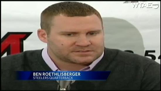 Ben Roethlisberger goes into Miami University Hall of Fame with late coach