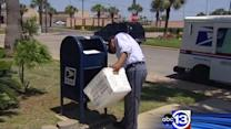 Homemade explosive device found in mailbox
