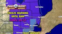 Frost and Freeze tonight
