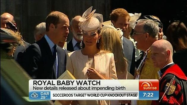 Kate to have natural birth