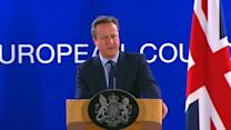 """Cameron: """"I'm sad"""" - but country must move forward"""