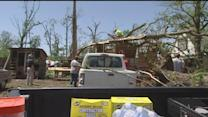 Survivors try to cope after deadly Arkansas tornados
