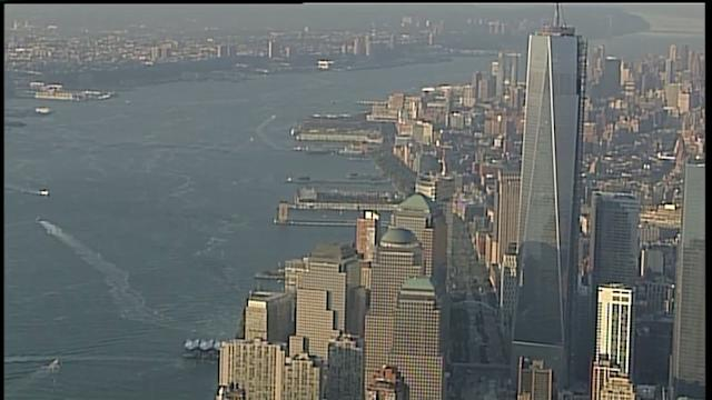 Teen Sneaks Past Sleeping Guard, Scales To Top Of 1 WTC