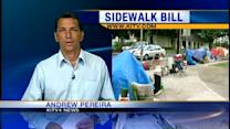 Council unanimously passes sidewalk nuisance bill
