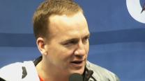 Raw: NFL Players Talk to Media Before Super Bowl