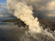 Stunning Aerial Footage Shows Volcano Kilauea's Lava Flows Meeting the Ocean
