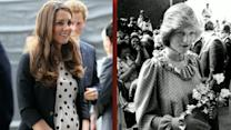 Parallels Between Kate, Princess Diana's Pregnancies