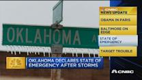 CNBC update: Oklahoma declares state of emergency