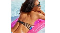 Holly Strappy Pushup Bikini Top $19 60% OFF