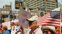 Protests Outside Cincinnati IRS Office
