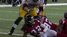 Here's why Falcons didn't get a safety on Packers fumble
