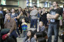 Train stuck in tunnel 3 hours, then stun gun sparks stampede