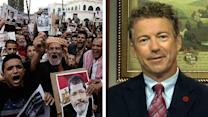 Sen. Paul: US continuing to send aid to Egypt is a 'mistake'
