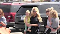 Jessica Simpson and CaCee Cobb Show Off Their Big Baby Bumps