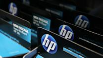 Hewlett-Packard revenue falls in last report before split