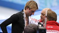 Russian Star Plushenko Retires, Withdraws From Games