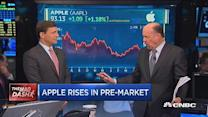 Apple's 'super cycle' hype: Cramer