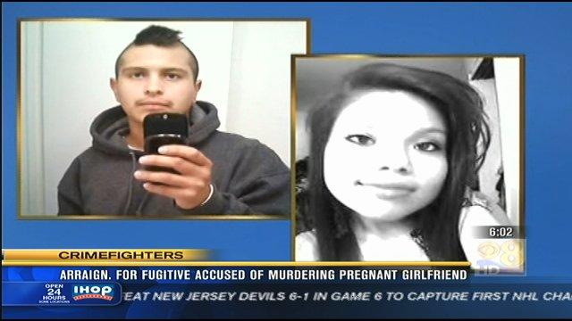 Arraignment for fugitive accused of murdering pregnant girlfriend