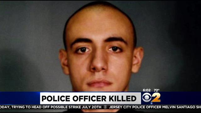 Family, Friends & Fellow Officers Mourn Loss Of Jersey City Cop