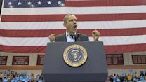 Obama begins final rally in Wisconsin