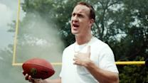 Peyton Manning on his new DirecTV commercial