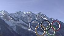 Raw: Olympic Media Center Opens in Sochi