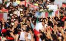 Multitudinario funeral para despedir a los fallecidos en el atentado de Ahvaz