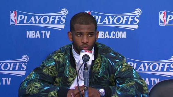 Postgame: Chris Paul