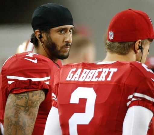 Colin Kaepernick Protests National Anthem Over Treatment of Minorities