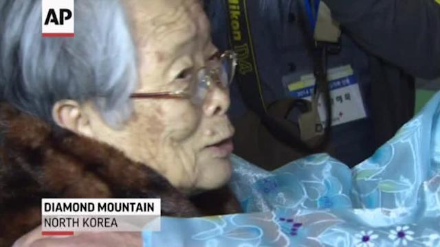 Raw: North, South Korean Families Hold Reunion