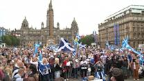 Record turnout for Scottish independence vote