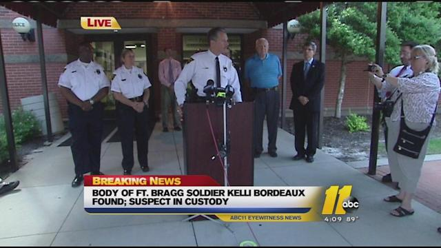 News conference: Kelli Bordeaux's body found