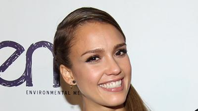 Jessica Alba honored at the EMA Awards