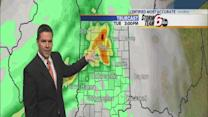 Tuesday's Forecast: Thunderstorms developing in the afternoon