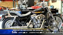 Former Navy Seal meets his hero, wins custom bike