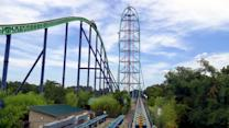 Kingda Ka: The country's tallest and fastest roller coaster