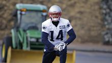 WR Michael Floyd won't be playing in AFC title game after Patriots declare him inactive
