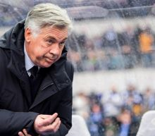 Bayern Munich's Carlo Ancelotti admits giving Hertha Berlin fans 'the finger' — but says it was because he was spat on