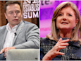 Elon Musk snapped back at Arianna Huffington's advice to get some more sleep in tweet he sent at 2:30 a.m. (TSLA)