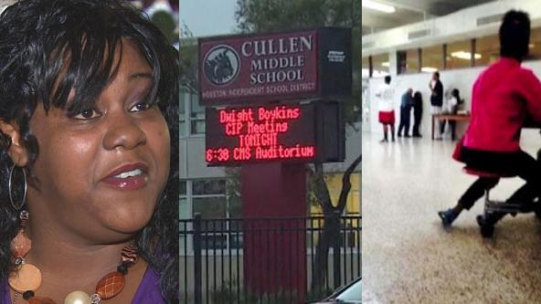 Concerned mother says her daughter was threatened, attacked at Cullen Middle School