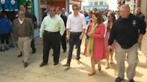 Prince Harry tours of Seaside Heights