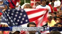World Cup Fans Prepare For USA/Germany Game