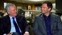 NCIS - Robert Wagner & Michael Weatherly