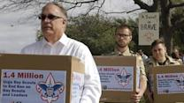 Scout Families Deliver Petition on No-gay Policy