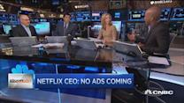 Reed Hastings: No ads coming onto Netflix