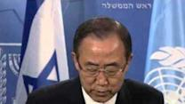 Ban Ki-Moon and Netanyahu Hold Joint Press Conference