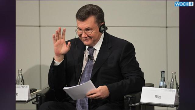 Yanukovych Admits Mistakes On Crimea