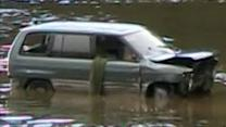 Body recovered from submerged van