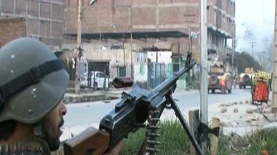 Raw: Taliban Attack Afghan Police Station