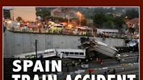 Police Hold Spain Train Crash Driver As Suspect